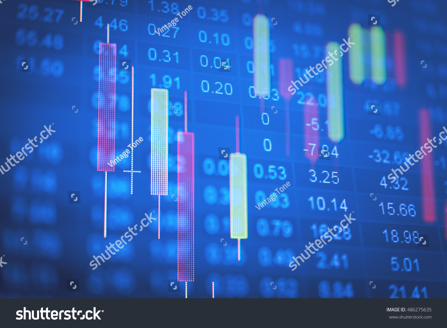 Investment Growth Concept Price Gold On Stock Photo Edit Now