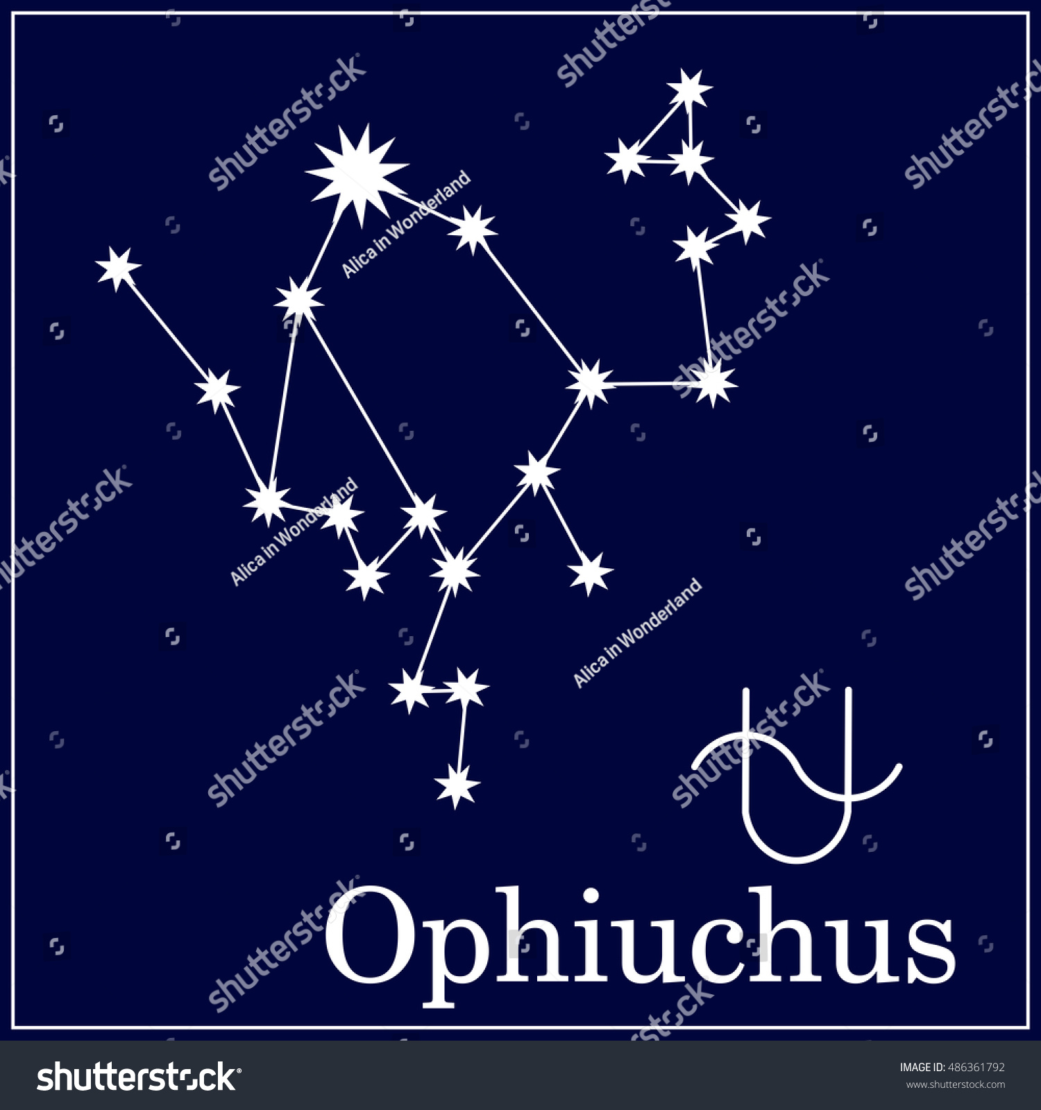 Astronomical constellation astrological zodiac symbol new stock astronomical constellation and astrological zodiac symbol new thirteenth zodiac sign ophiuchus zodiac sign buycottarizona Images