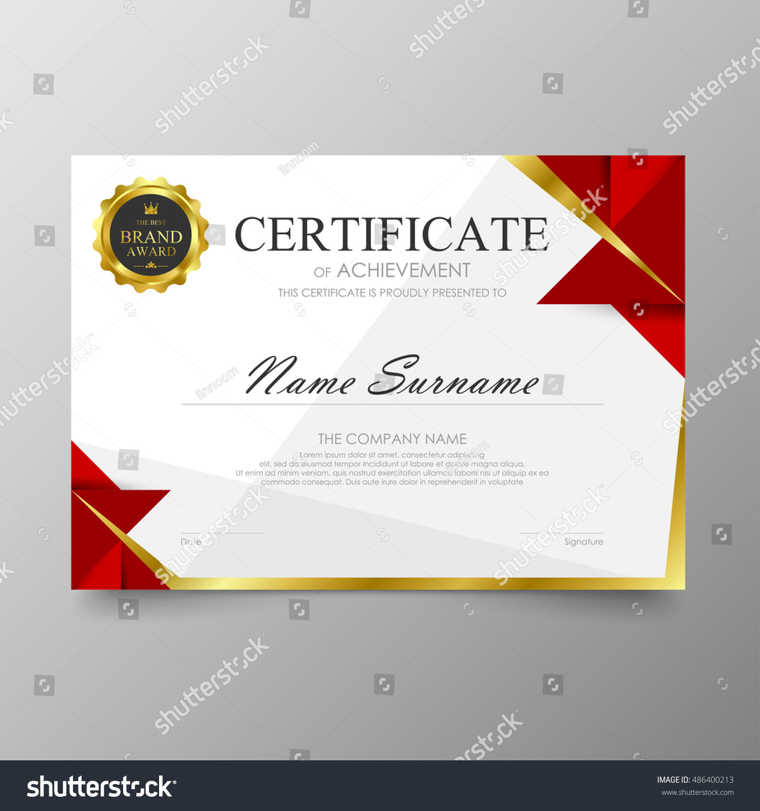 high school diploma certificate fancy design templates - certificate template awards diploma background vector