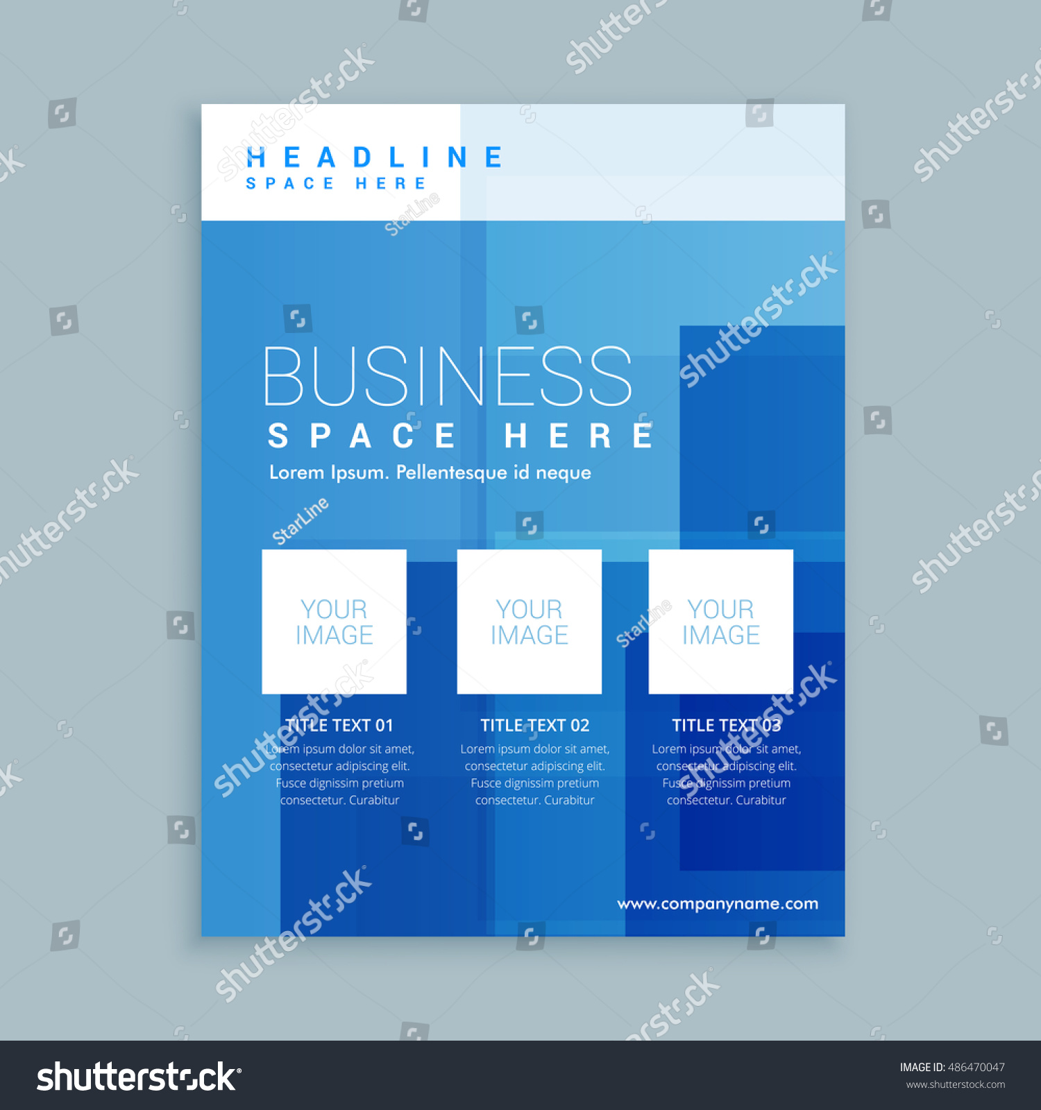 marketing flyer template