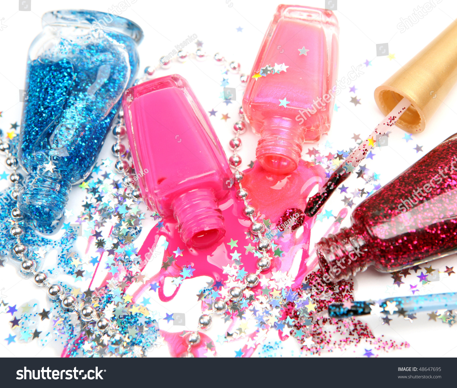 Color Nail Polish Stock Photo 48647695 : Shutterstock
