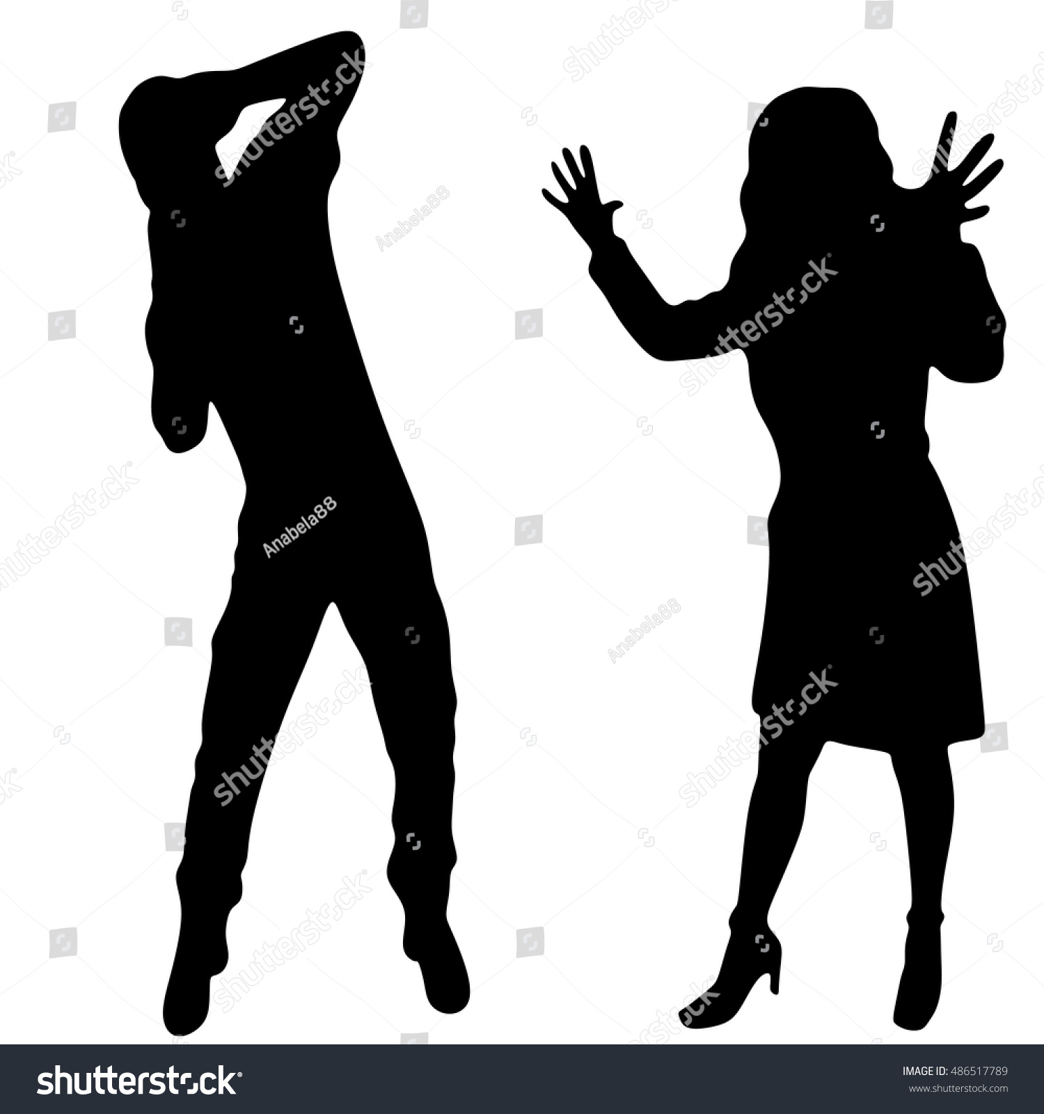 angry woman at man - photo #29
