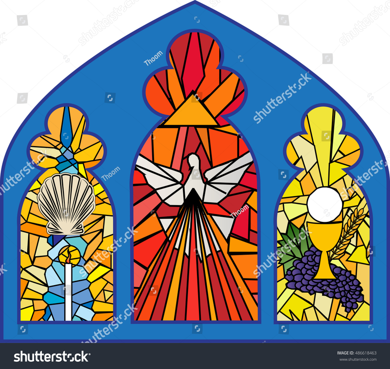 Baptism Confirmation Eucharist Sacraments Christian ...