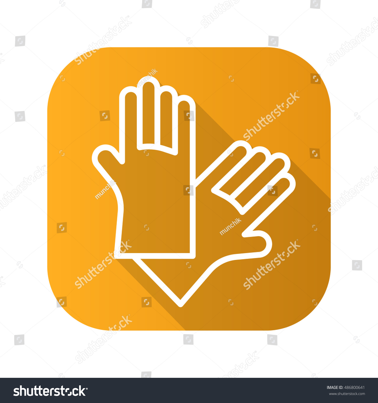 Latex gloves flat linear long shadow stock vector 486800641 latex gloves flat linear long shadow stock vector 486800641 shutterstock biocorpaavc