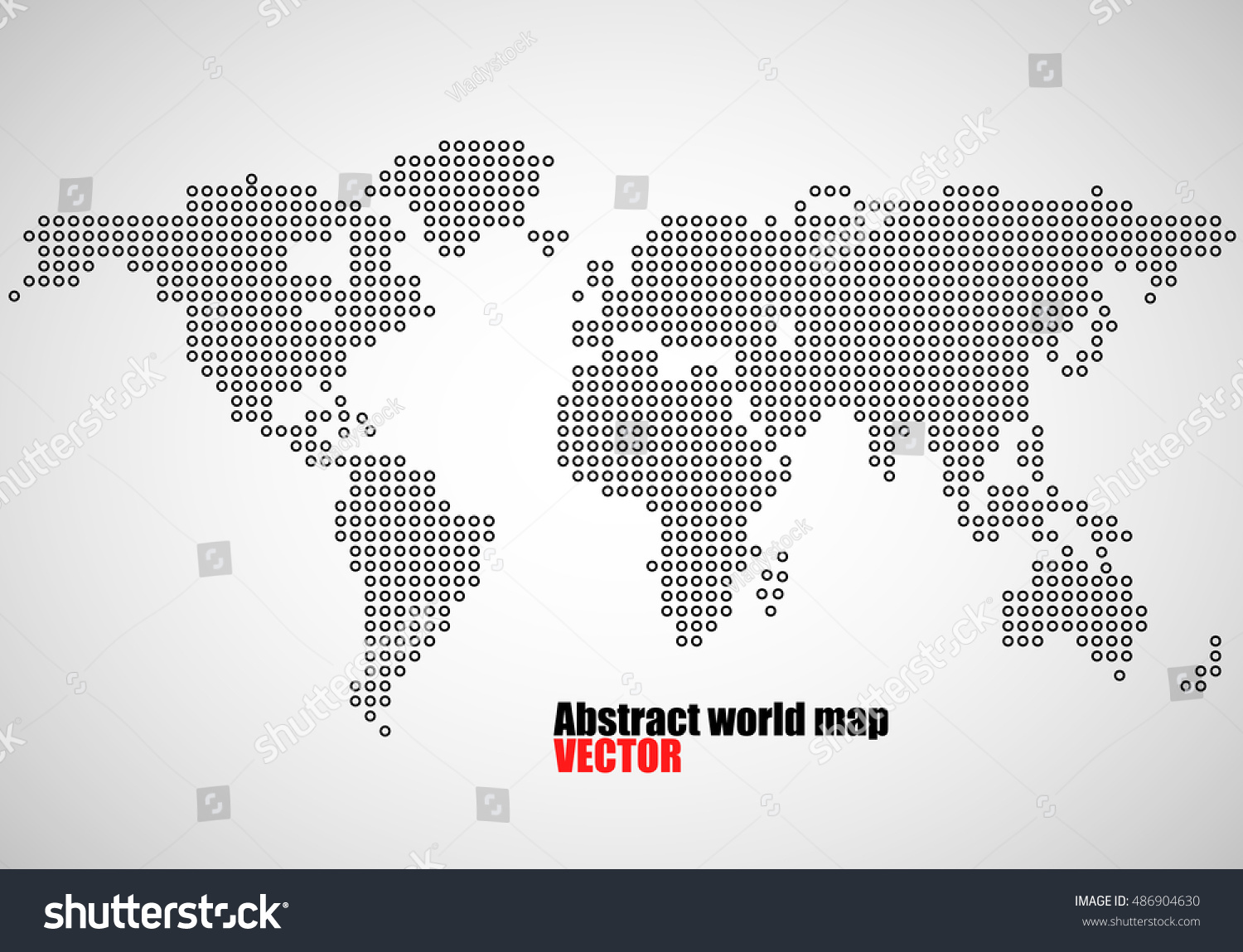 Abstract world map dots vector illustration stock vector 486904630 abstract world map of dots vector illustration eps 10 gumiabroncs Choice Image