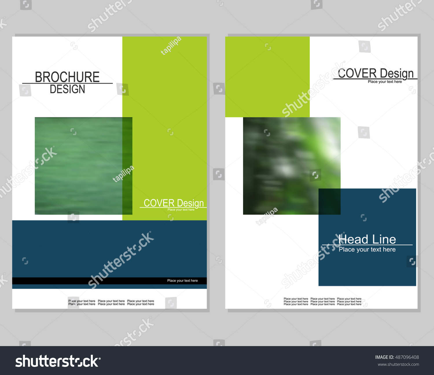vector brochure cover templates blurred plants eps 10 mesh vector brochure cover templates blurred plants eps 10 mesh background