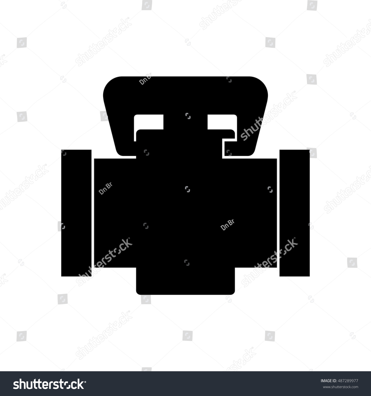 Home Gas Valve Stock Vector Royalty Free 487289977 Shutterstock