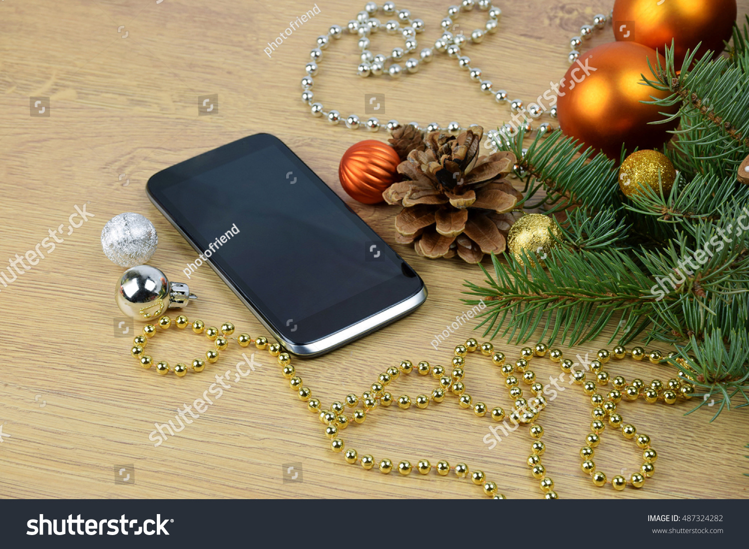 Royalty-free Festive greetings online. Xmas SMS.… #487324282 Stock ...