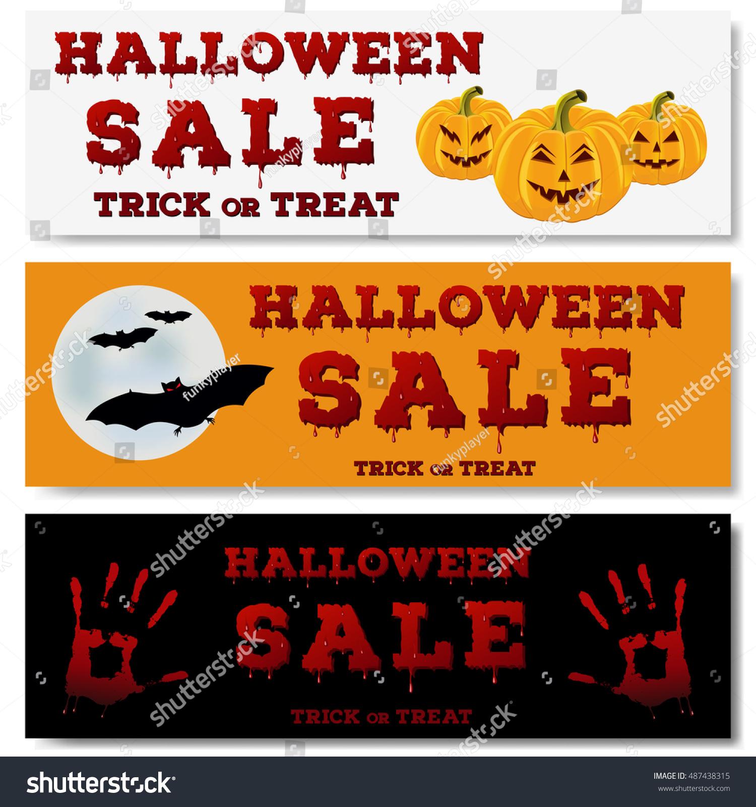 halloween sale flyer