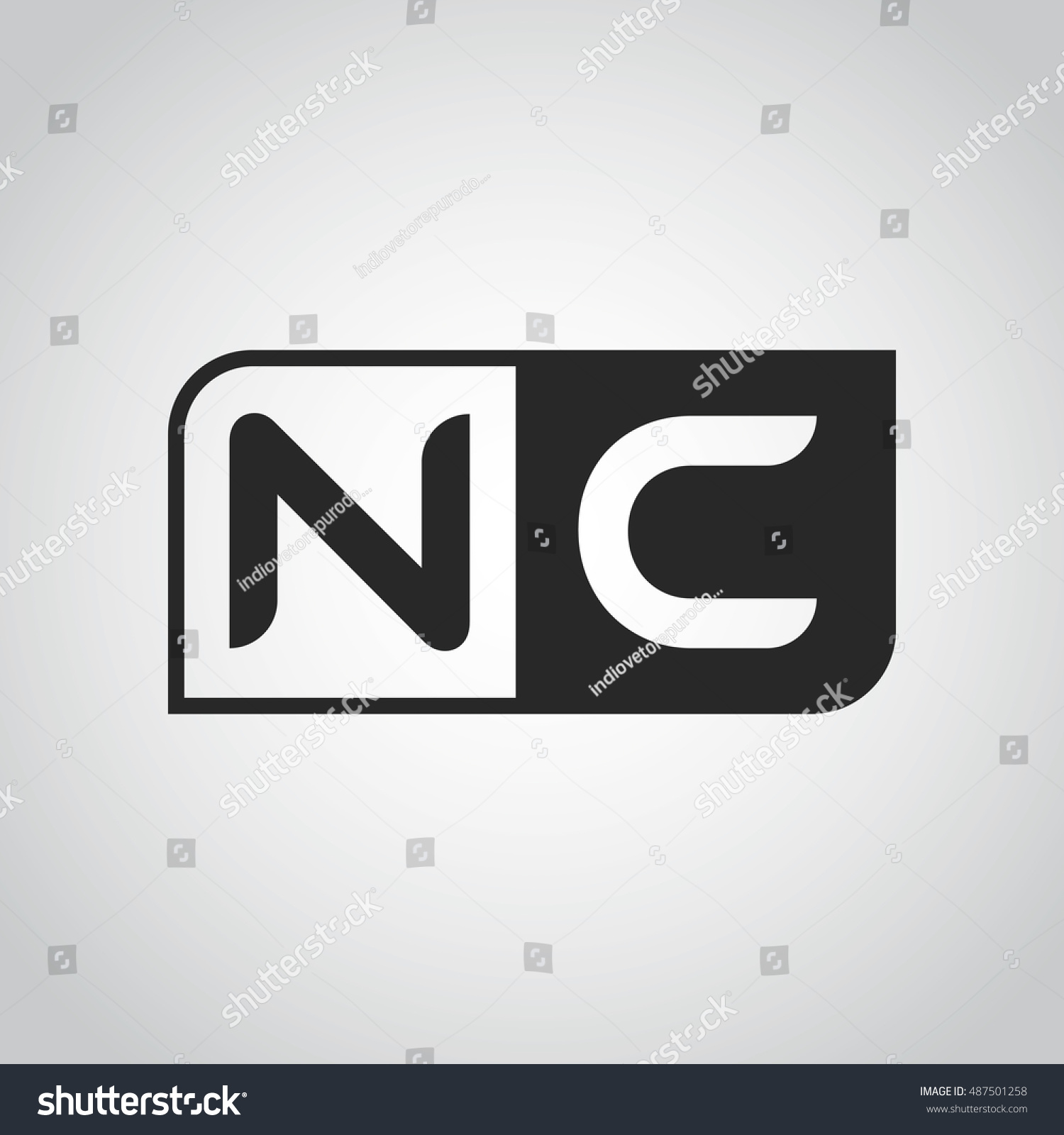 Abbreviations Letter Name Identity Logo Symbol Stock Illustration ...