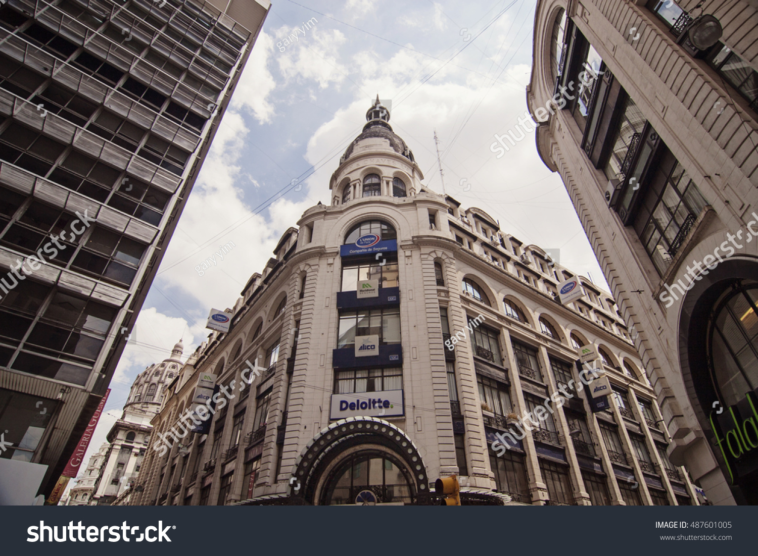 Buenos Aires Argentina February 27 2009 Stock Photo (Edit Now) 487601005