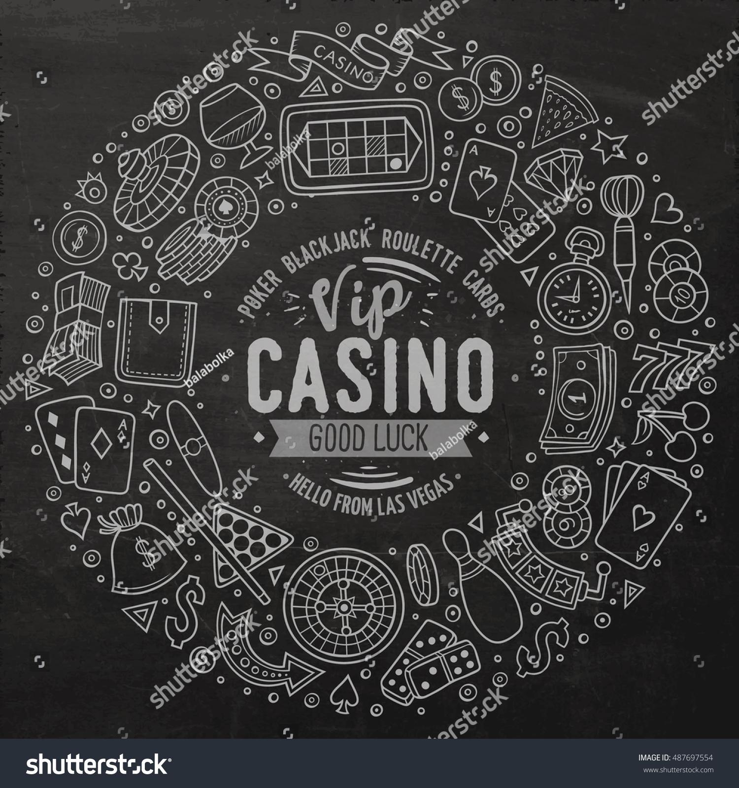 Blackjack game kit