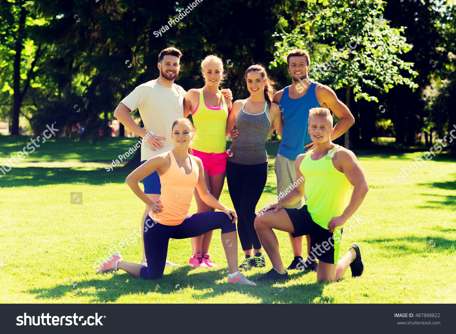 fitness sport friendship healthy lifestyle concept stock photo 487888822 shutterstock. Black Bedroom Furniture Sets. Home Design Ideas