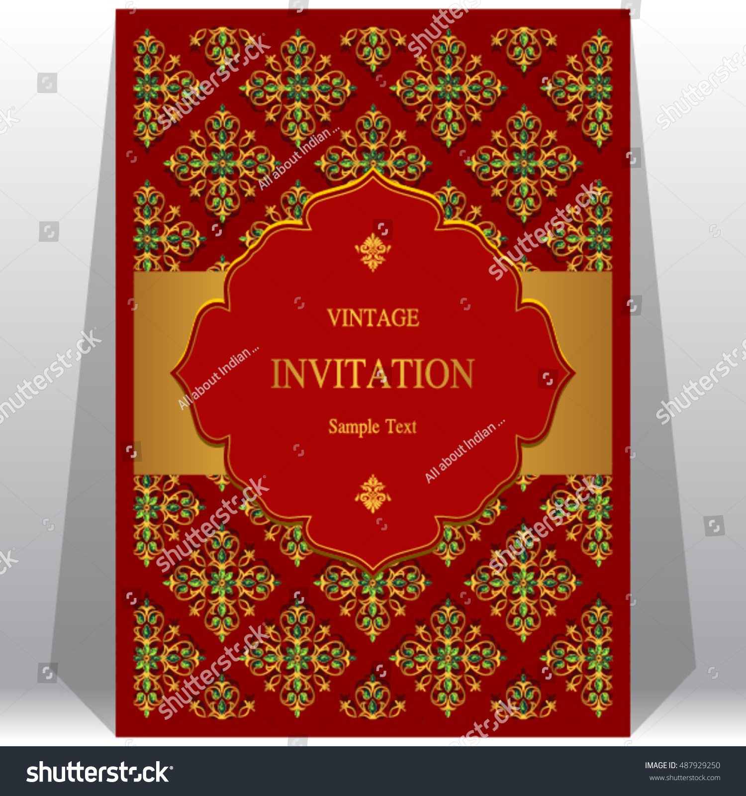 Vintage gold background. Retro style frame of 1920s | EZ Canvas