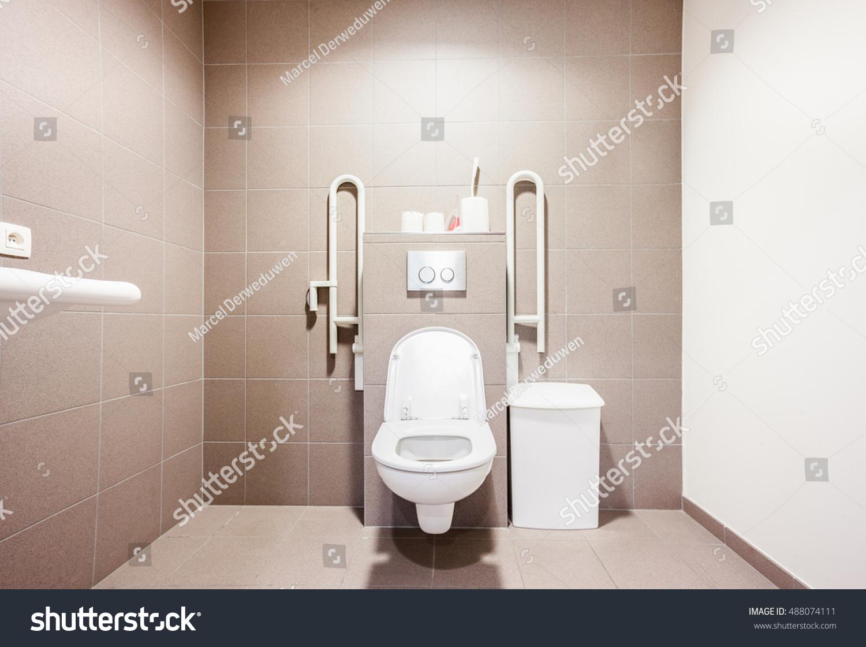 Public Disabled Toilet Large Building Stock Photo (Edit Now ...