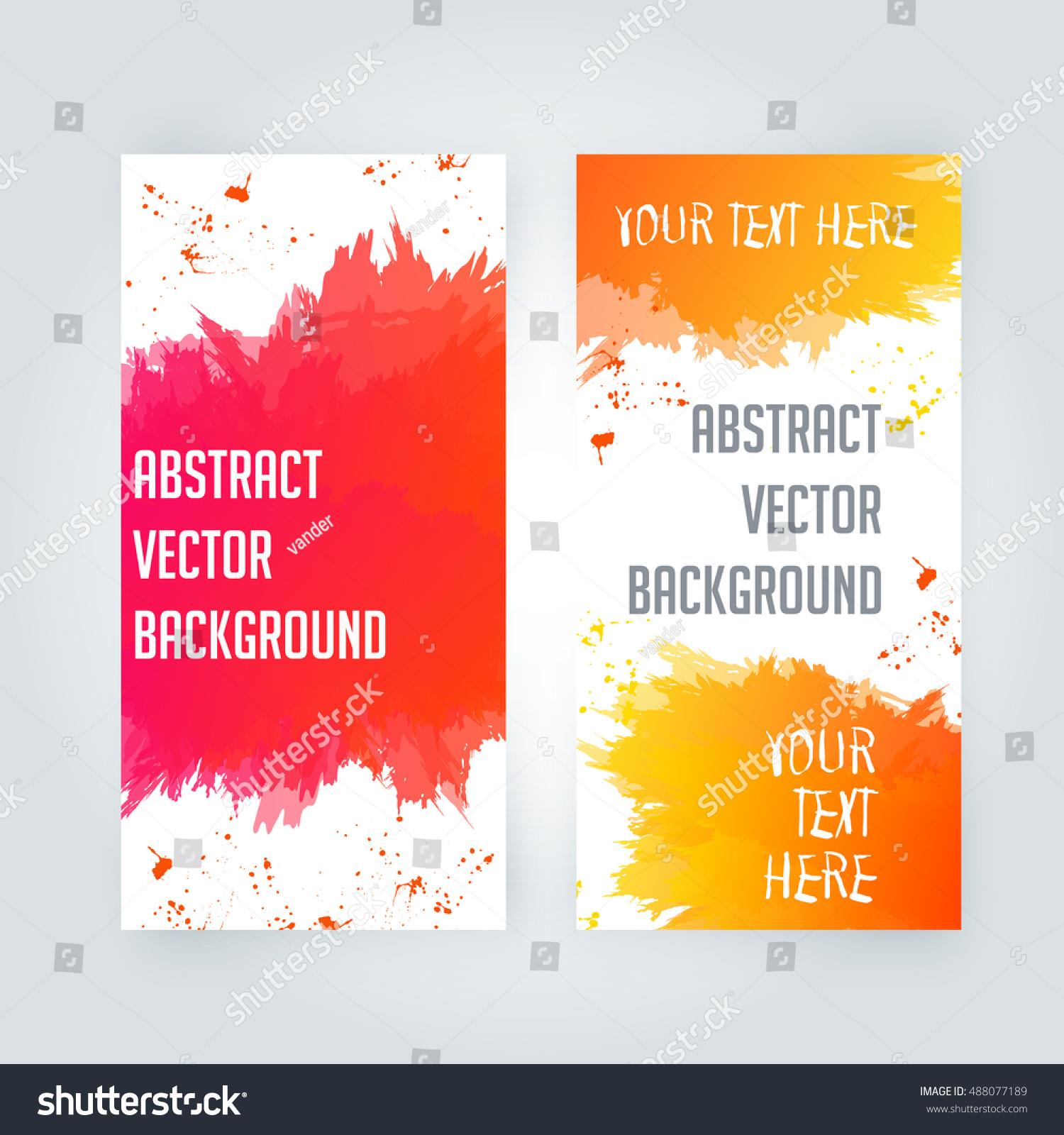 design templates vectors grunge vector resume skills examples stock vector abstract paint splashes set for design - Wwwresume Formatcom