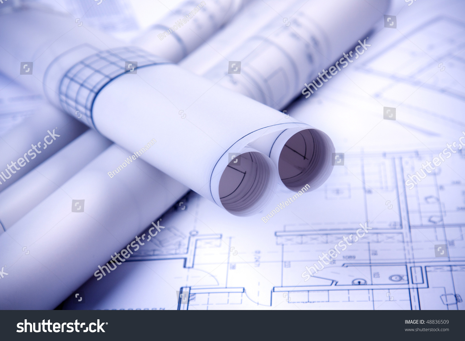 Paper architecture project tube stock photo 48836509 shutterstock paper architecture project tube malvernweather Images
