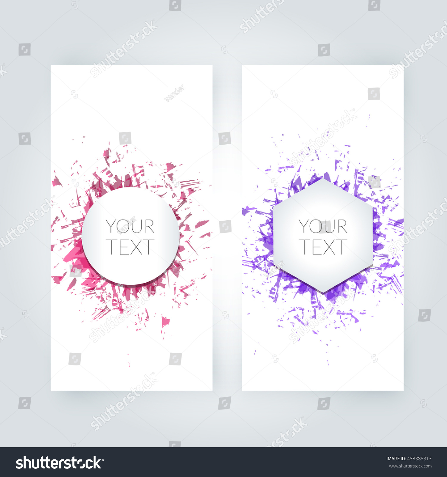 design templates vectors vector artwork wwwresume formatcom stock vector abstract paint splashes set for design use - Wwwresume Formatcom