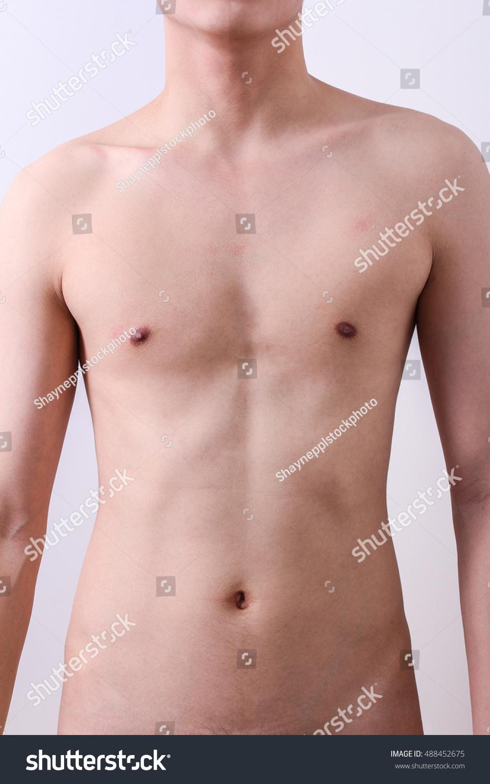 Men naked body