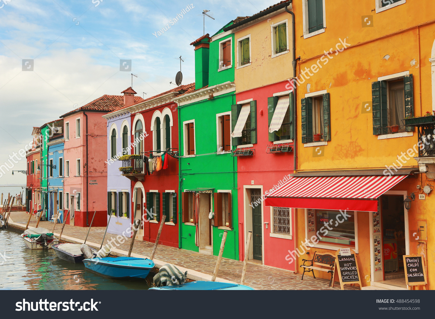 Colorful burano italy burano tourism - Burano Italy September 17 2016 Colorful Houses Of Burano Island In Venice Everyday Hundreds Of Tourists Visit The Island And Enjoy The Peaceful And