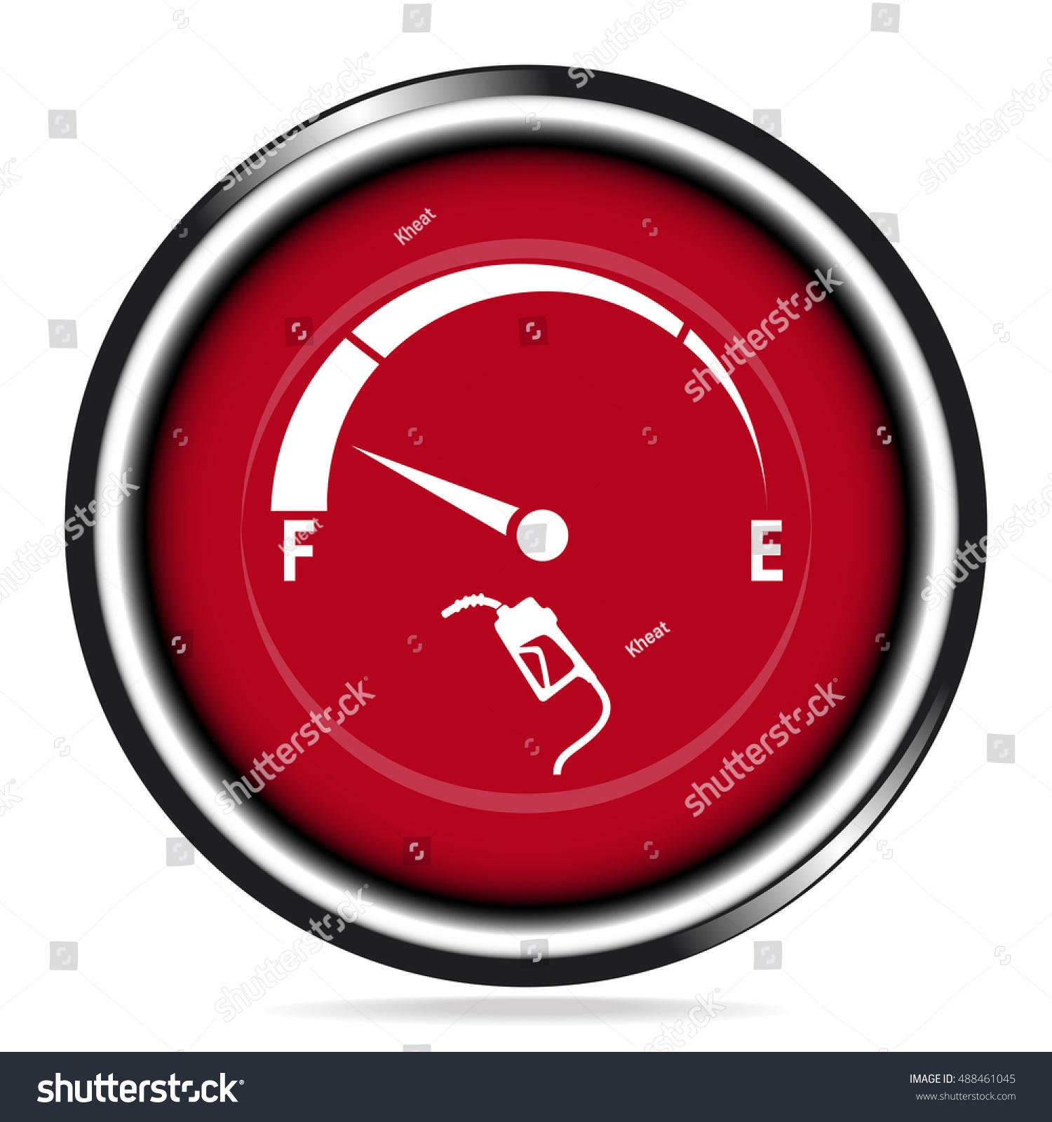 Fuel Gauge Symbol Gas Meter: Gas Meter S...
