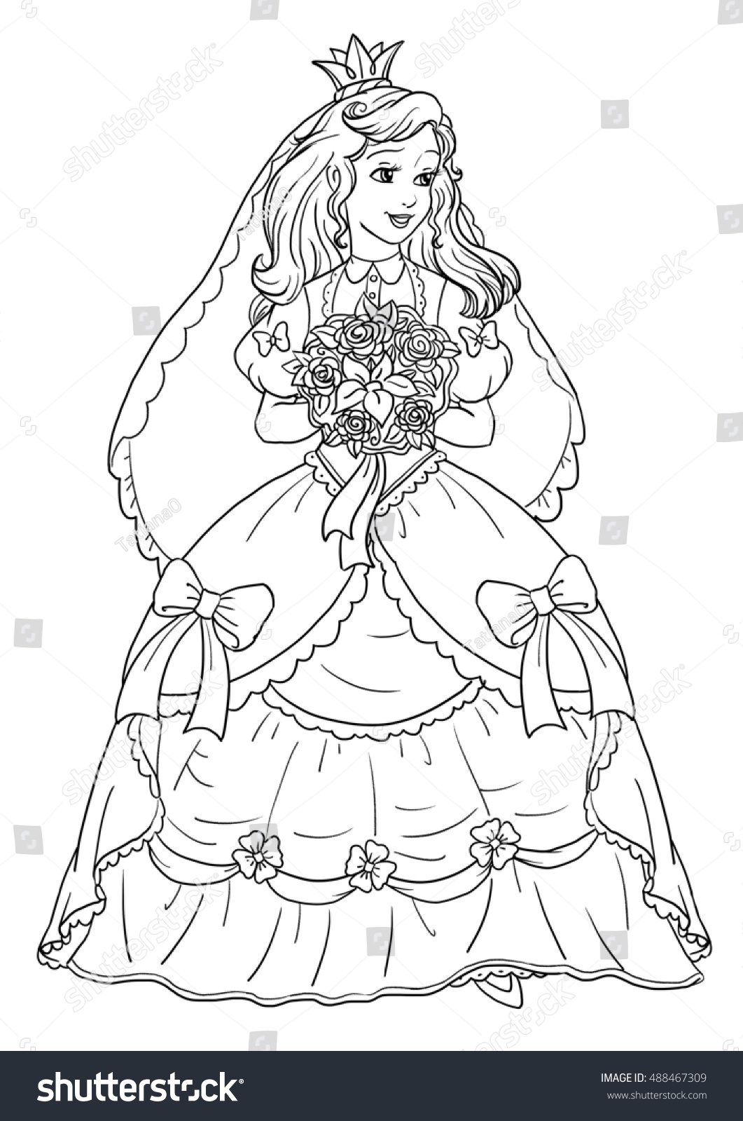 coloring pages princess bride - photo#18