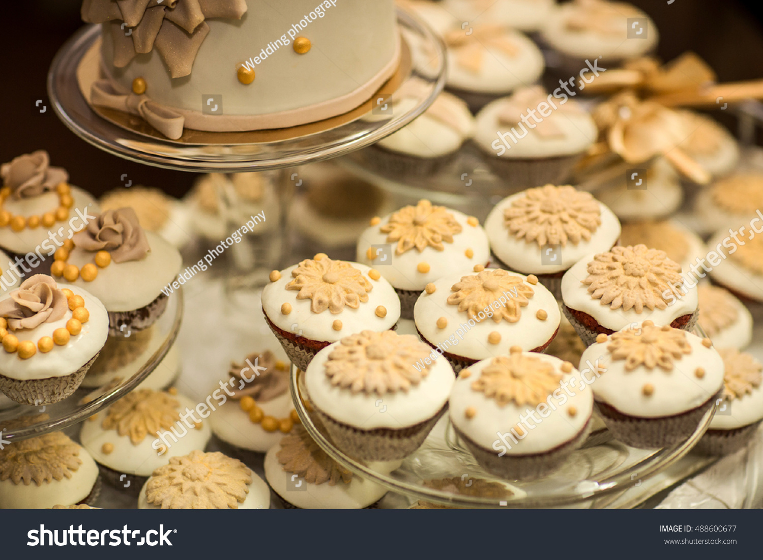 Candy Bar Cakes Delicious Wedding Candy Stock Photo (Edit Now ...