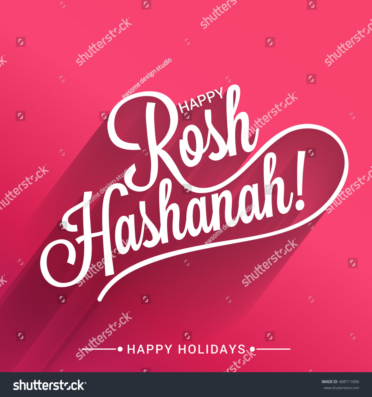 Beautiful card stylish typography rosh hashanahbackground stock a beautiful card with stylish typography rosh hashanahbackground kristyandbryce Choice Image