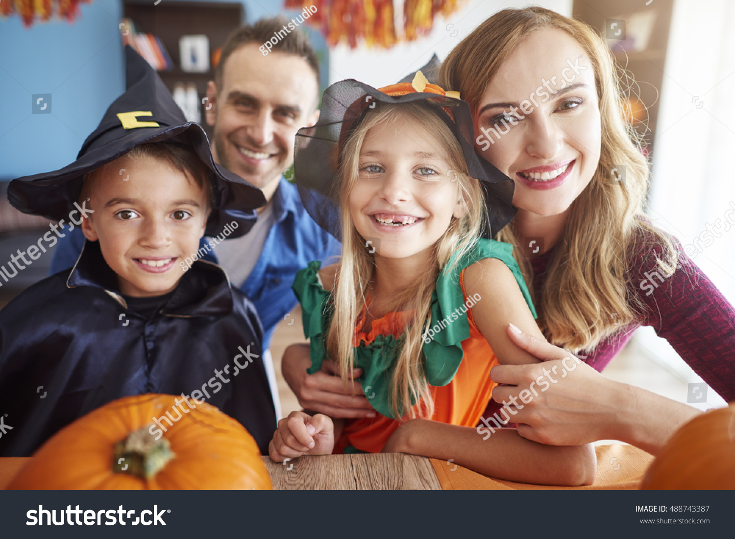 happy family during halloween celebration - What Is Halloween A Celebration Of