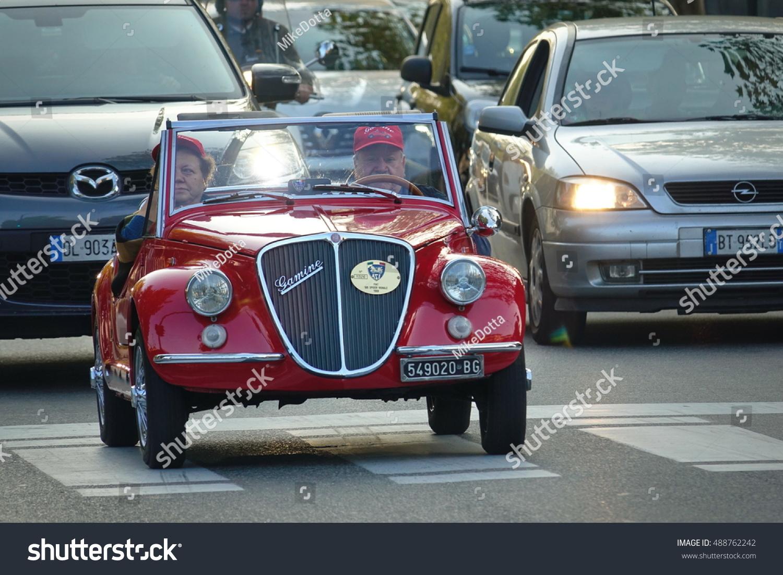 Turin Italy September 24 2016 FIAT Stock Photo (Royalty Free ...