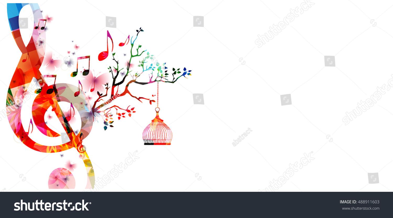 Creative Music Style Template Vector Illustration Stock