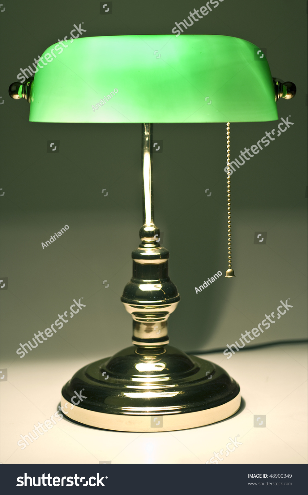 Banker table lamp choice image coffee table design ideas classic banker desk lamp on table stock photo 48900349 shutterstock classic banker desk lamp on table geotapseo Image collections