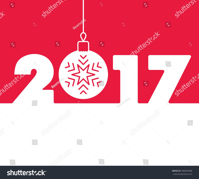 Calendar Typography Vector : New year background calendar design stock vector