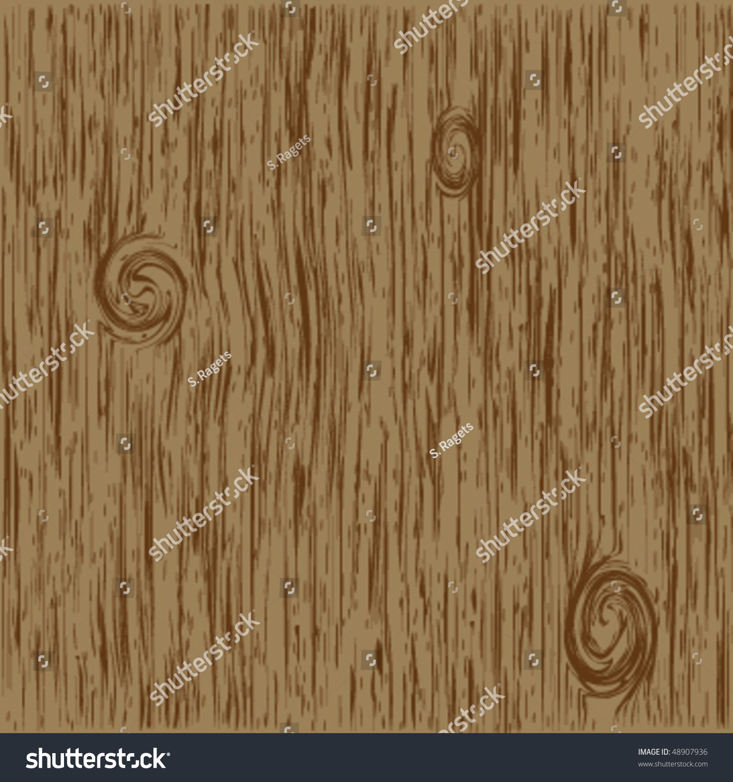 Dark Wood Grain Vector Stock Vector 48907936 - Shutterstock