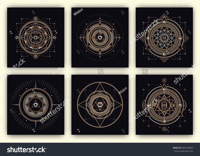 how to draw sacred geometry symbols