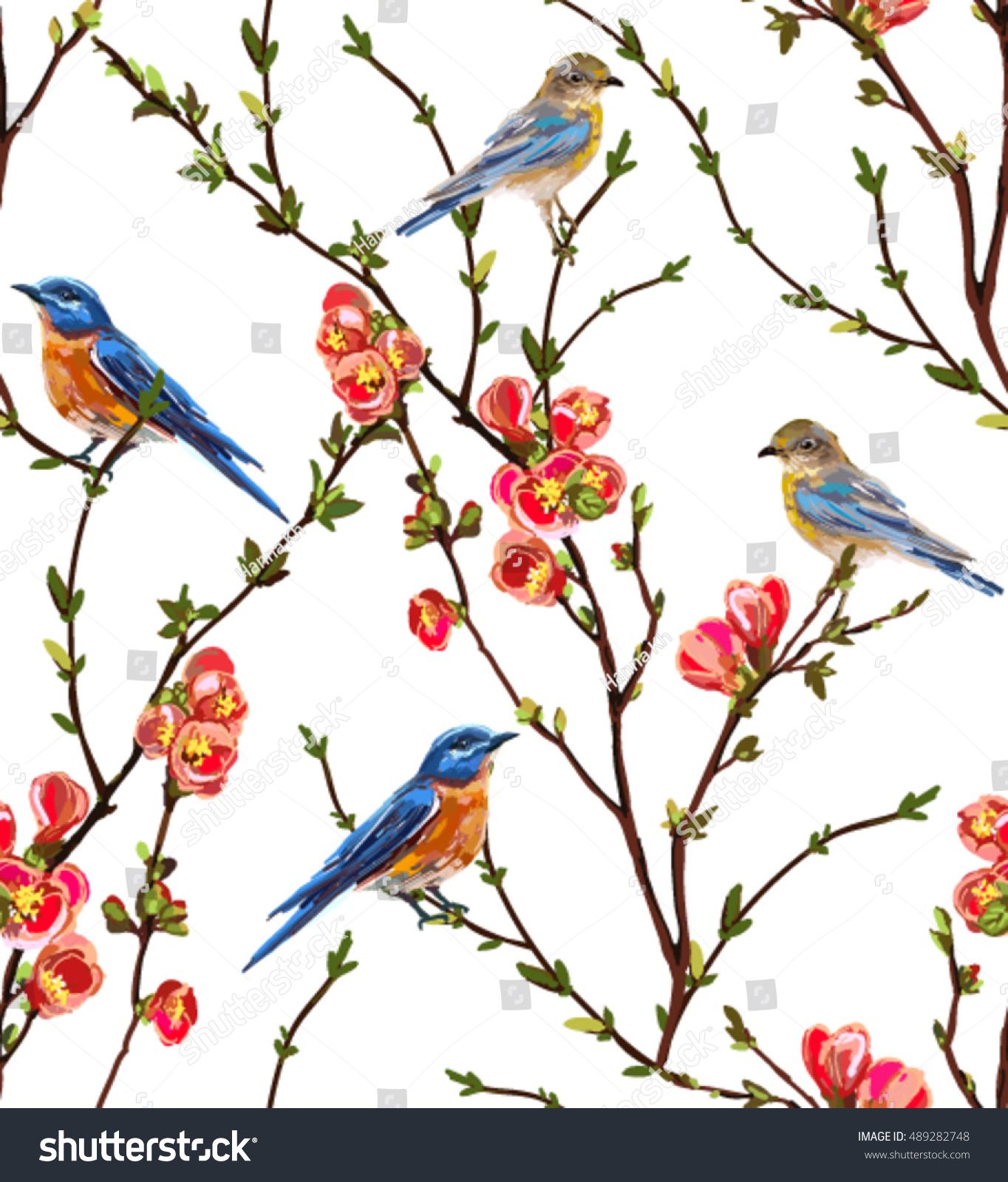 wallpaper tropical birds and foliage - photo #24