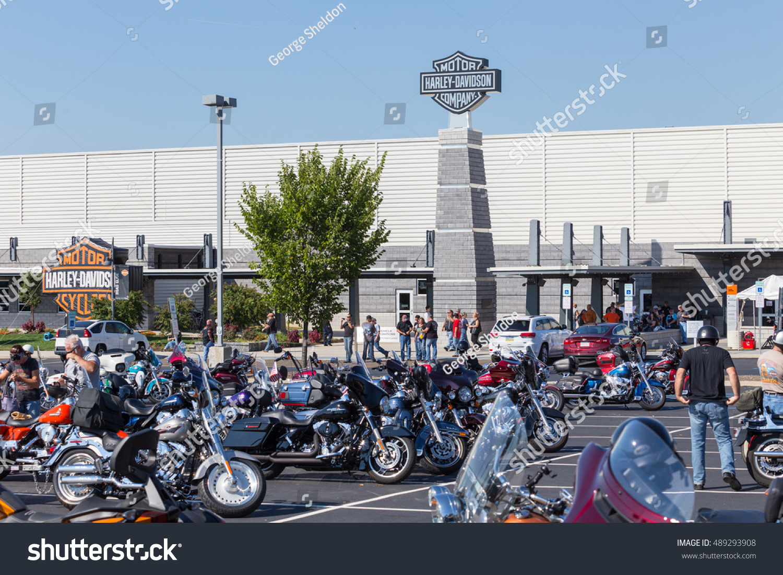 York Pa September 23 2016 Motorcycle Stock Photo 489293908 ...