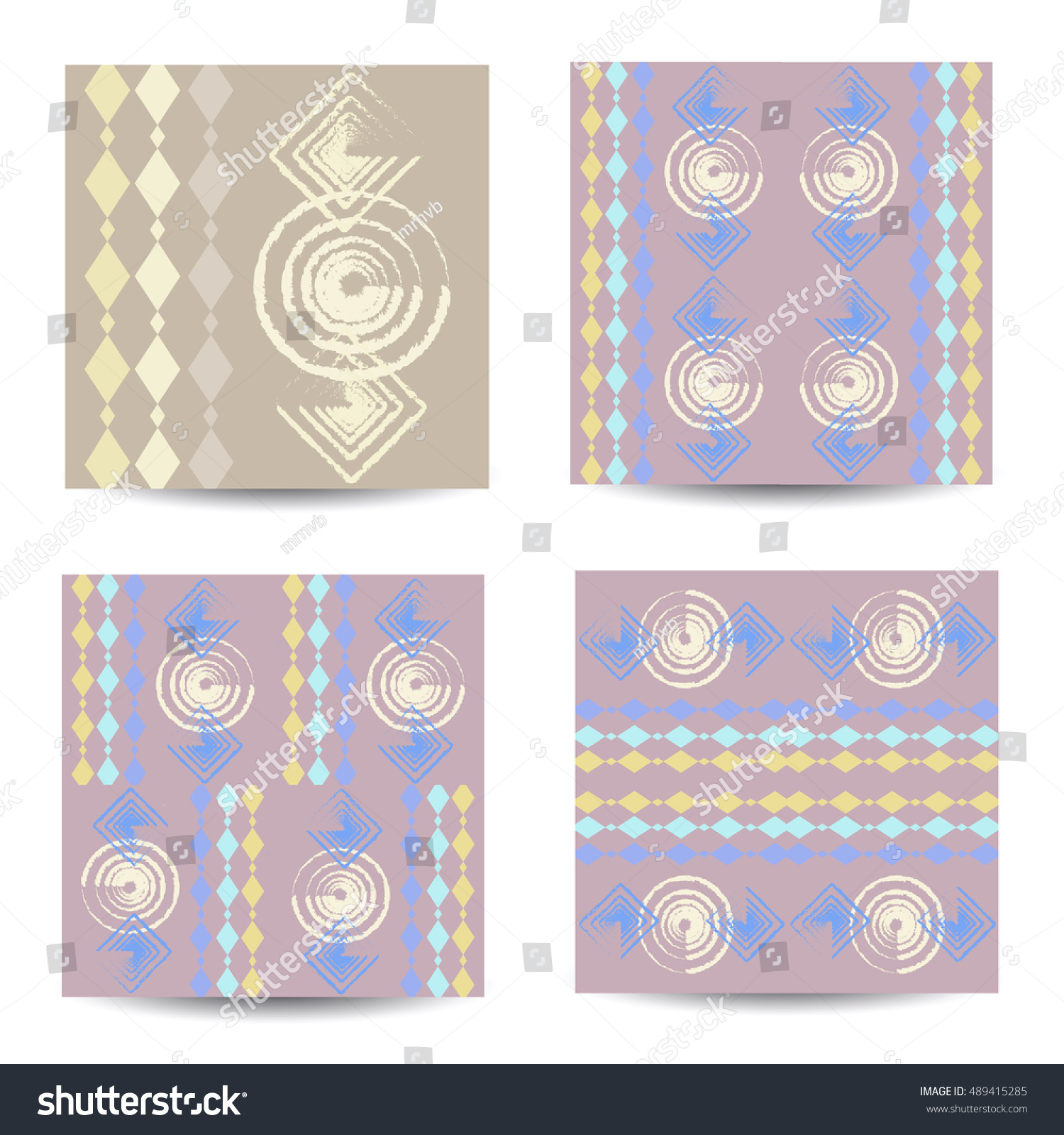 Design ceramic tiles dock examples set stock vector 489415285 design for ceramic tiles with a dock examples set of artistic creative universal cards dailygadgetfo Image collections