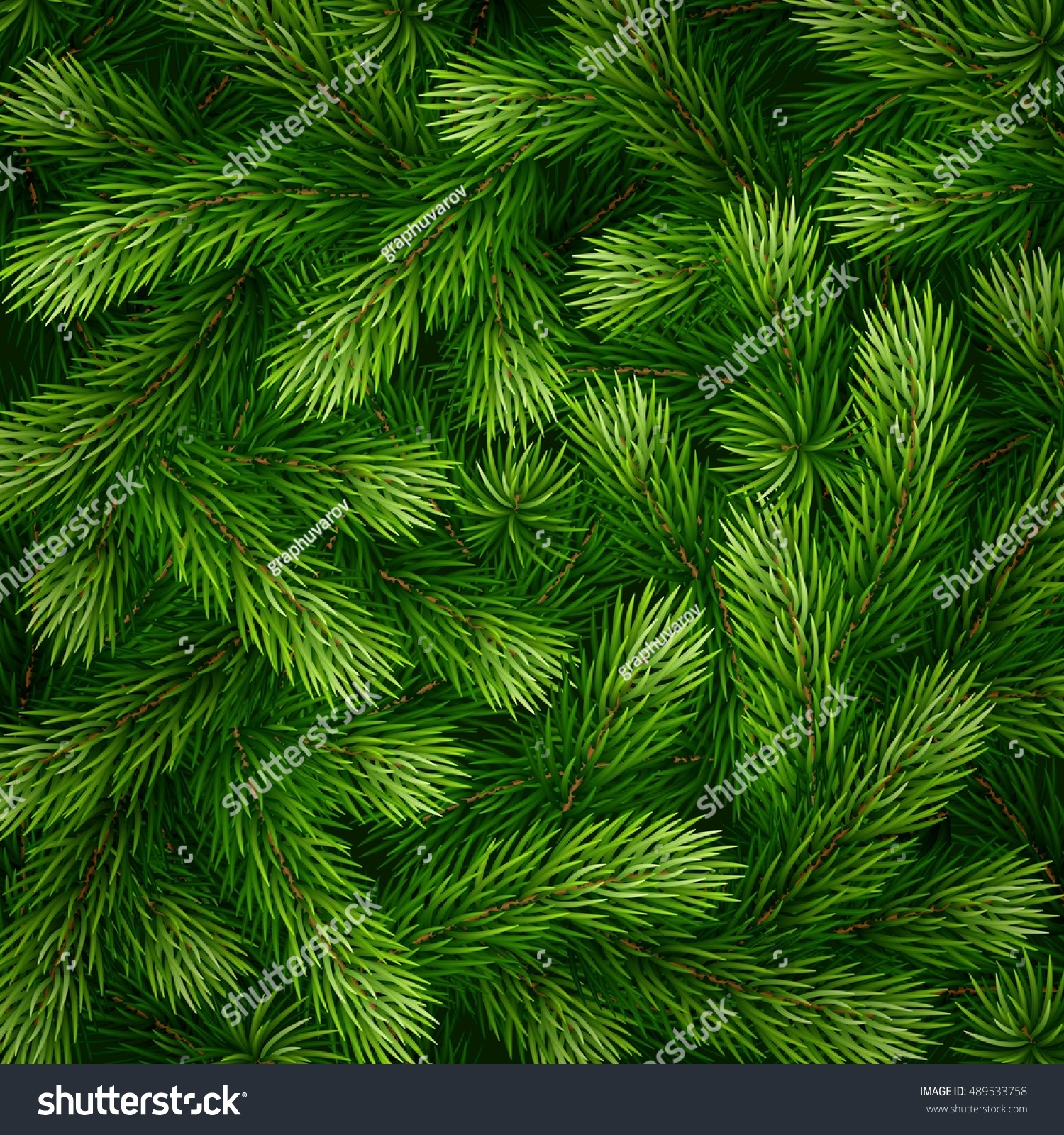 detailed christmas tree branches background - Christmas Tree Branches