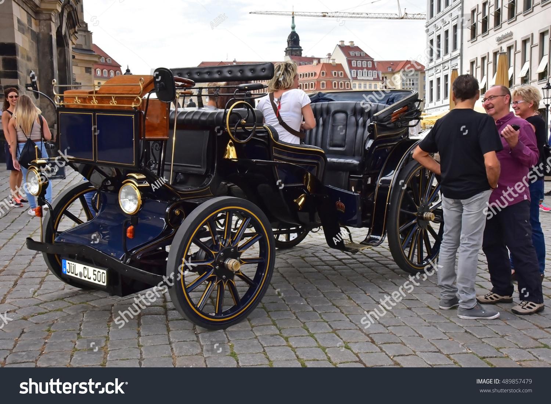 Dresden September 4 2016 Oldtime Car Stock Photo 489857479 ...
