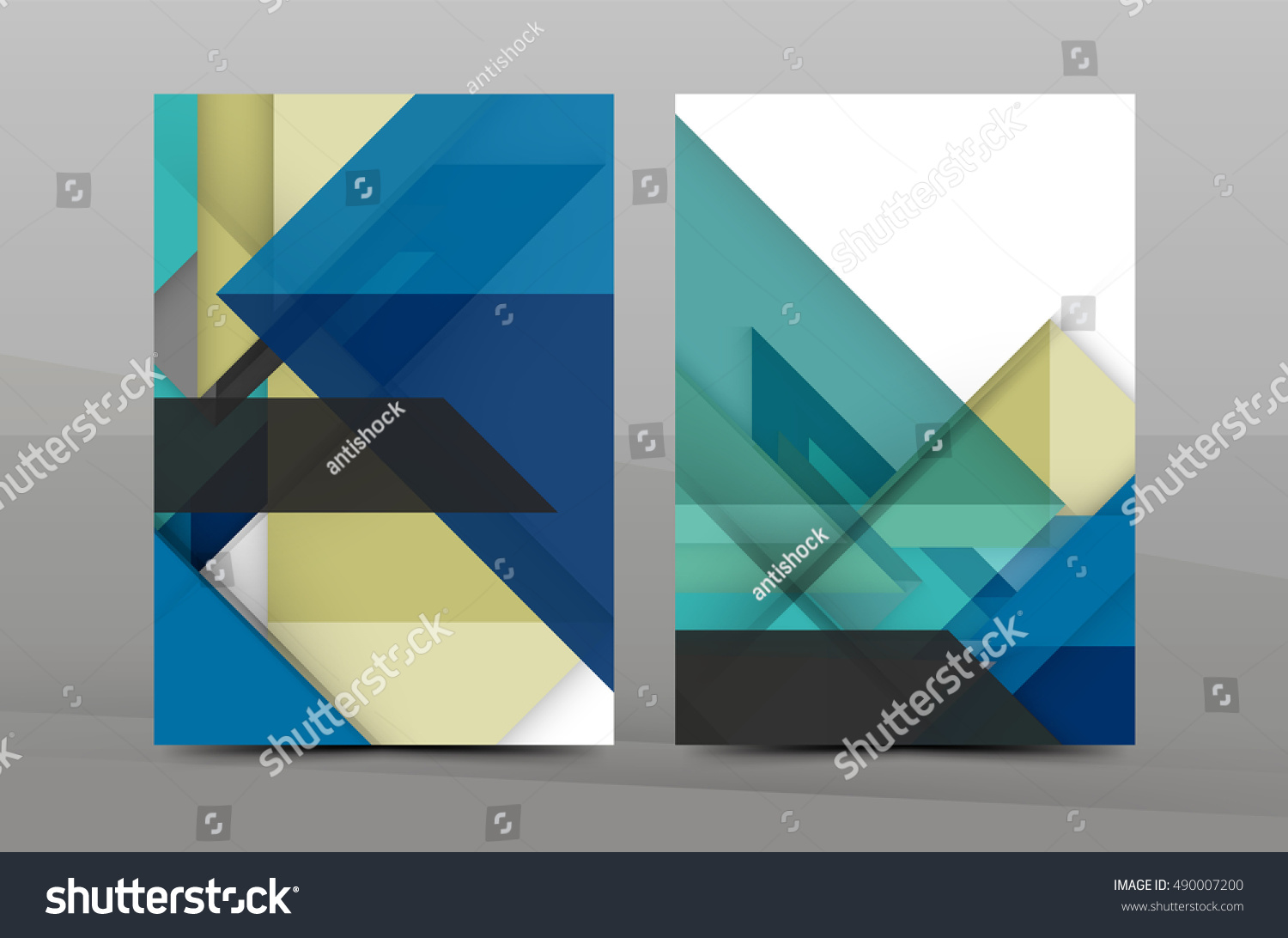 geometric abstract background color business brochure cover color business brochure cover template annual report front page a4