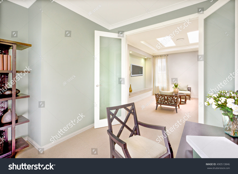 Modern House Interior Carpet Floor Wooden Stock Photo (Edit Now ...