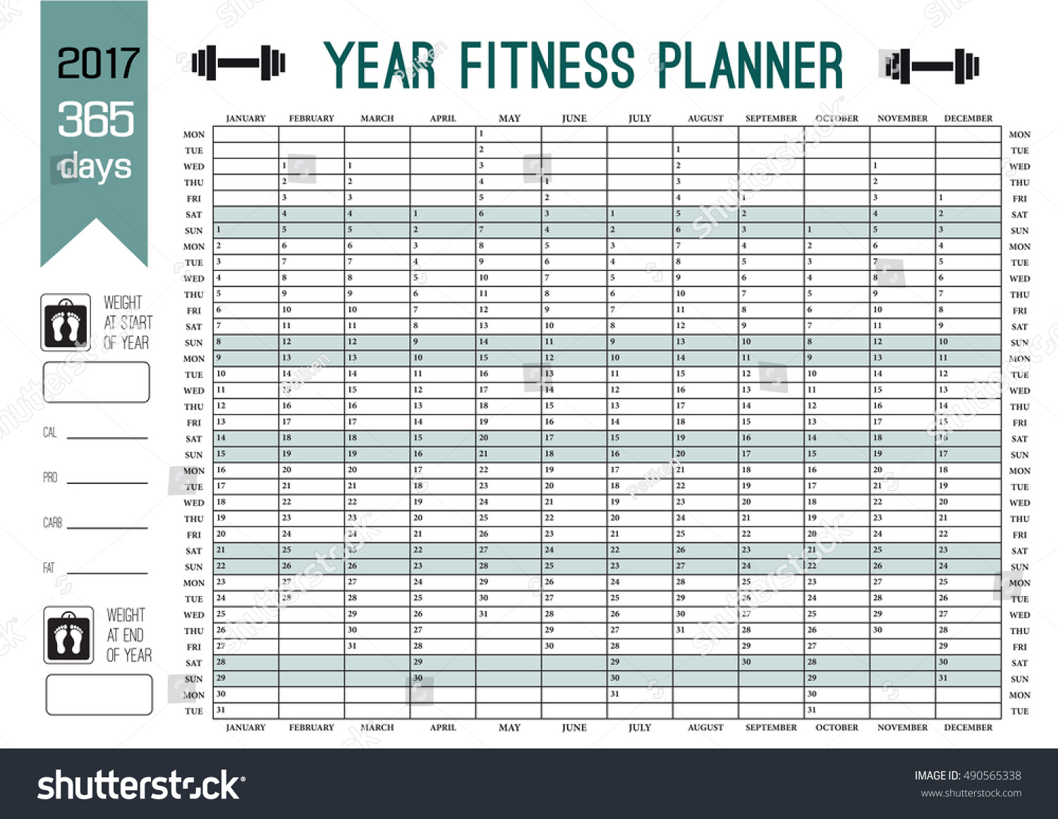Fitness Plan Template | Fitness Plan Template Eliolera Com