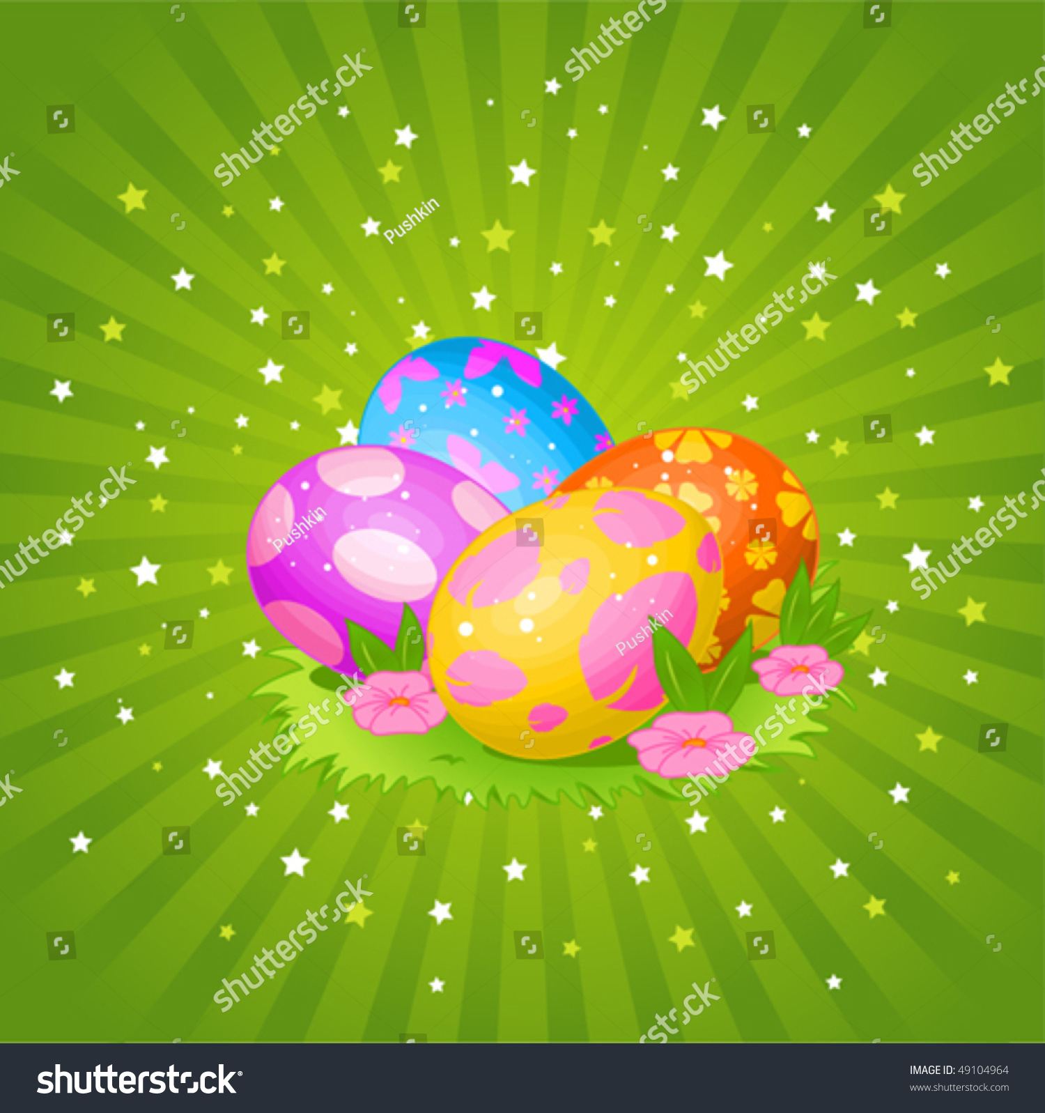 abstract easter egg coloring pages - photo#35
