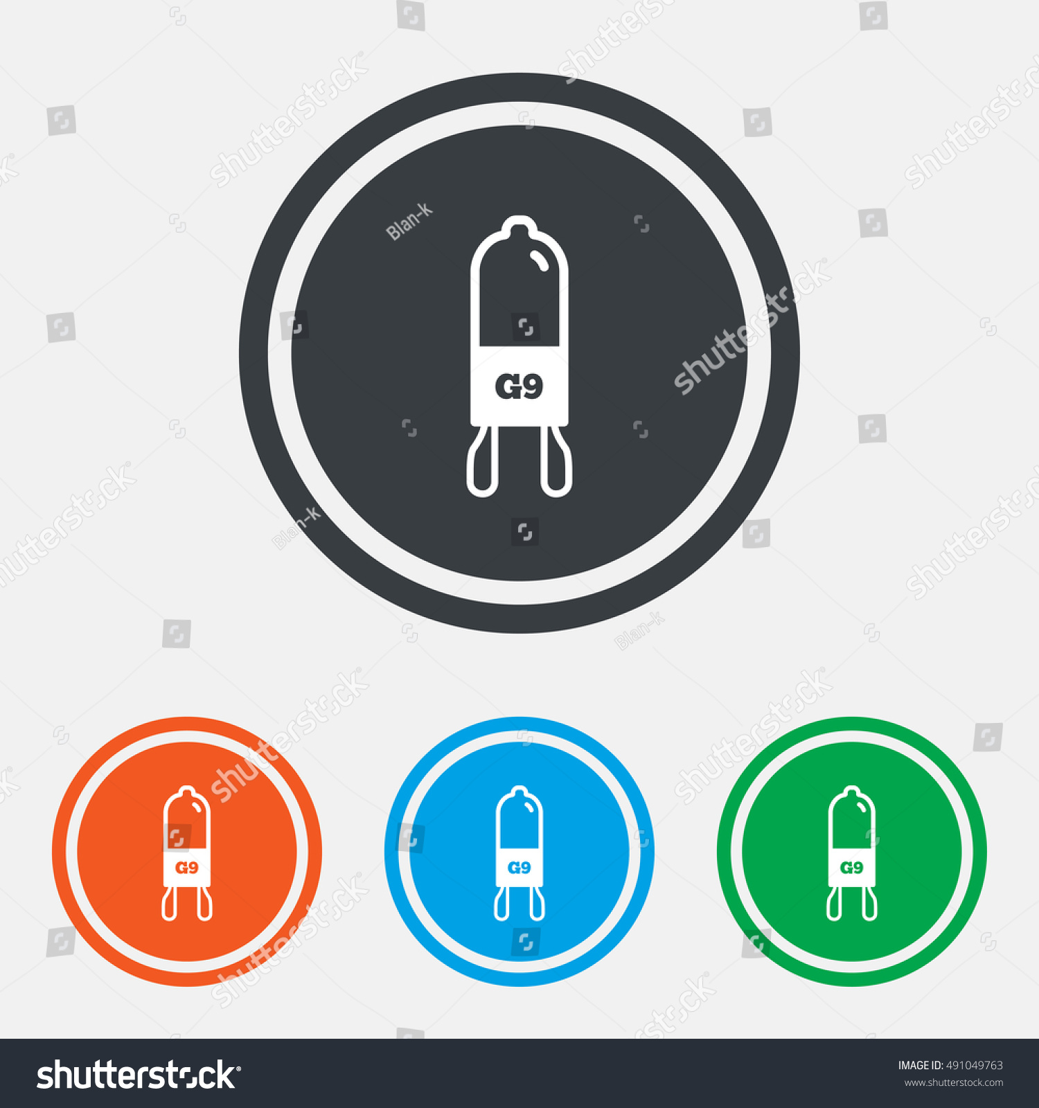 Light bulb icon lamp g9 socket stock vector 491049763 shutterstock light bulb icon lamp g9 socket symbol led or halogen light sign graphic biocorpaavc Images