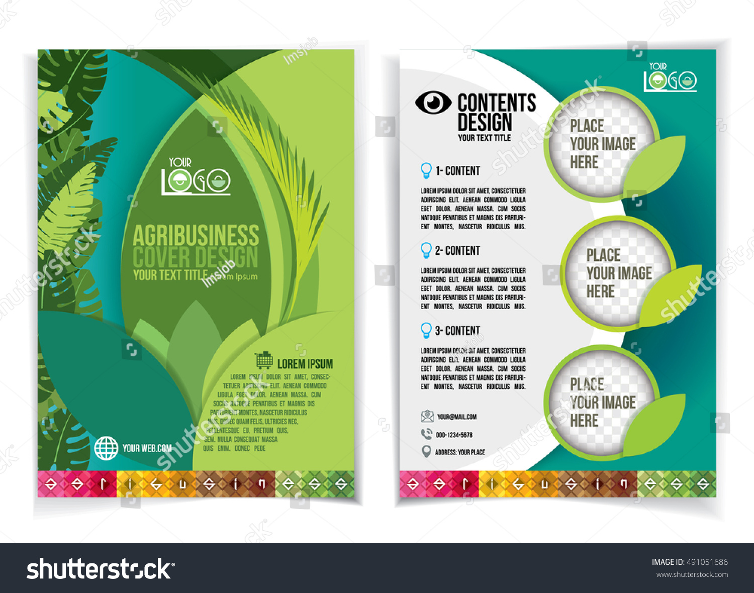 Brochure design industrial agriculture agribusiness design for Typography brochure design