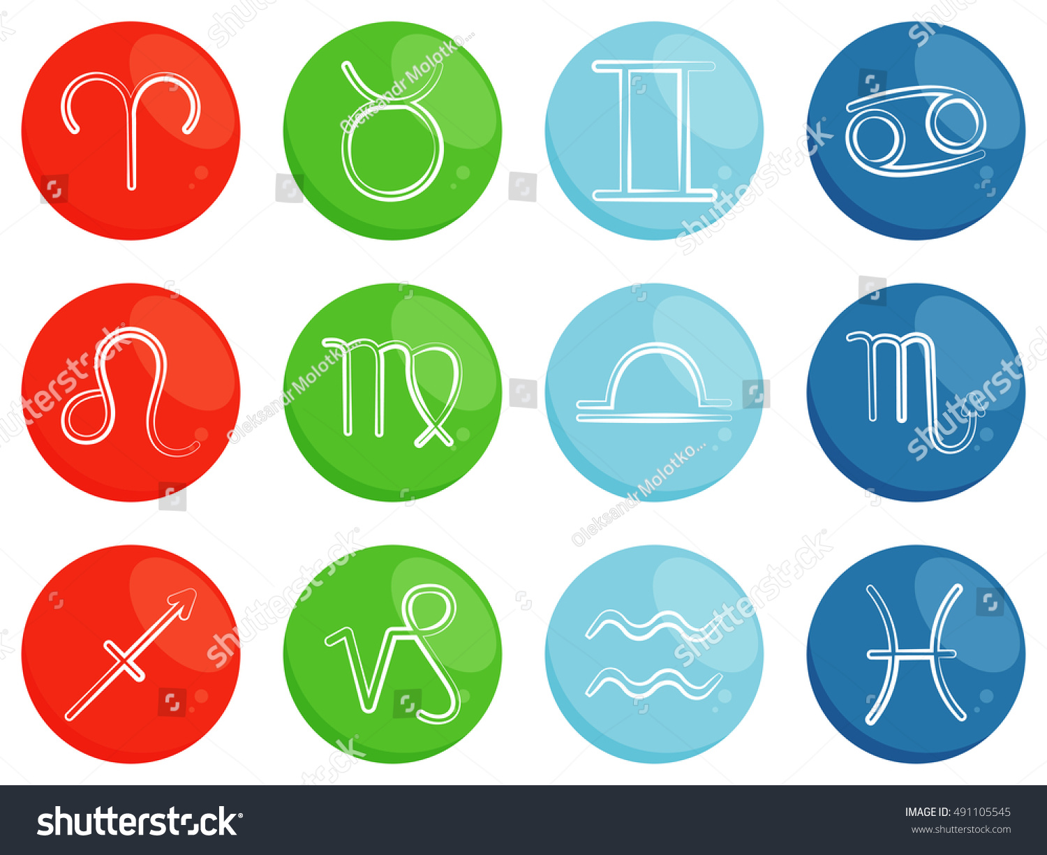 Symbols horoscope zodiac signs sorted by stock vector 491105545 symbols of horoscope zodiac signs sorted by four elements fire earth air buycottarizona