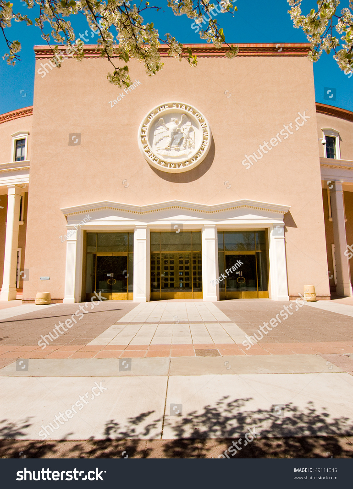 New Mexico State Capitol Building Stock Photo 49111345