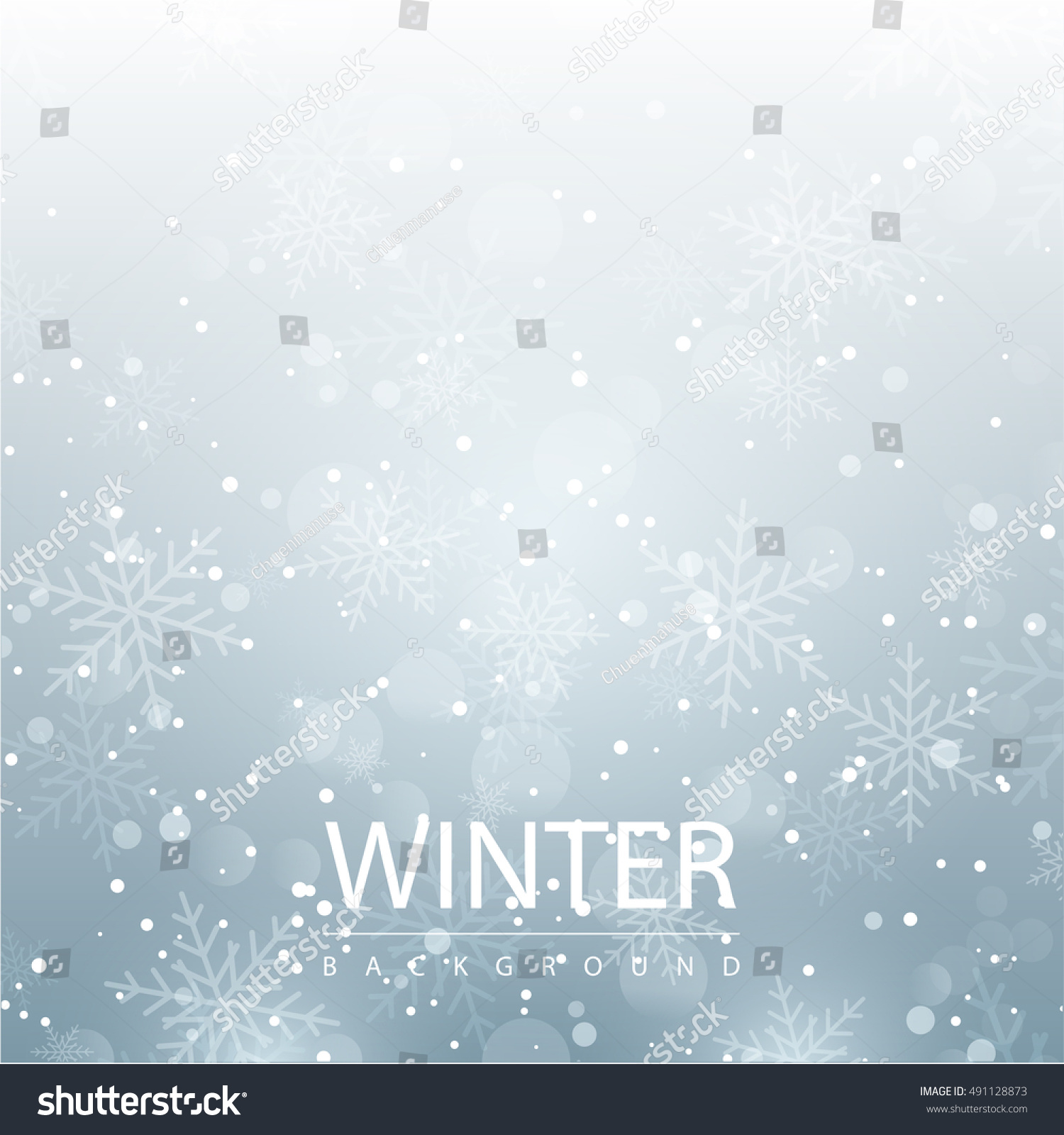 winter season background snow flake seasonal stock vector winter season background snow flake seasonal layout invitation poster business abstract illustration concept