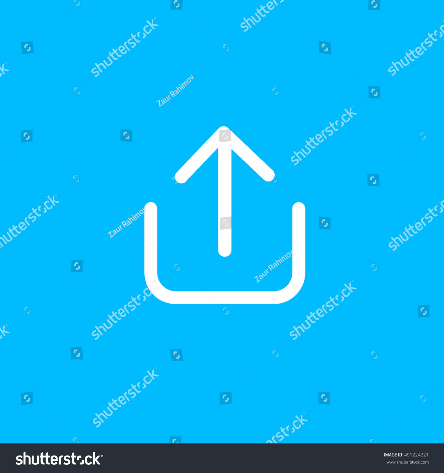 Snapchat share send icon vector social stock vector 491224321 snapchat share or send icon vector social media sign ui element user interface buycottarizona